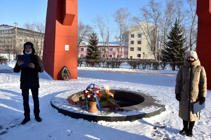 Правящий архиерей и сотрудники епархиального управления почтили память воинов казахстанцев