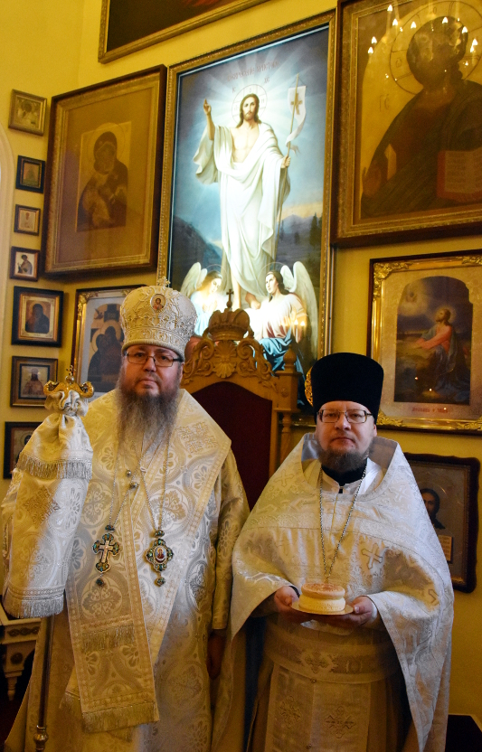 Архиерейская Литургия в Праздник Архангела Михаила