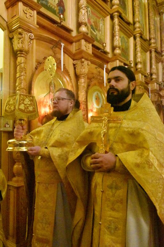 Архиерейская Литургия в Неделю 25-ю по Пятидесятнице