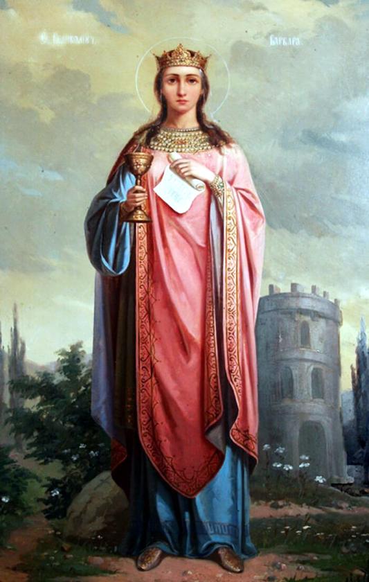 В Кафедральном соборе почтили память святой великомученицы Варвары