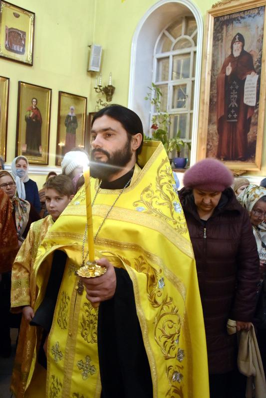Всенощное бдение под праздник святого Николая