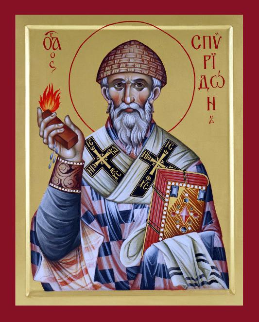 Архиерейская Литургия в праздник святителя Спиридона Тримифунтского