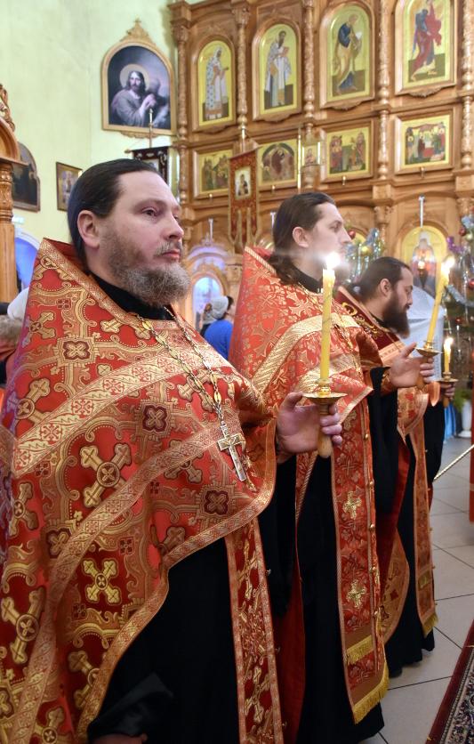 Благослови венец лета благости Твоея, Господи. Епископ Владимир совершил Новогодний молебен в главном храме Северного Казахстана