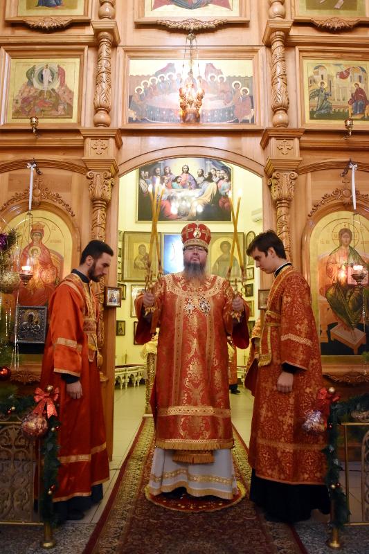 Архиерейская Литургия в день памяти святого мученика Севастиана