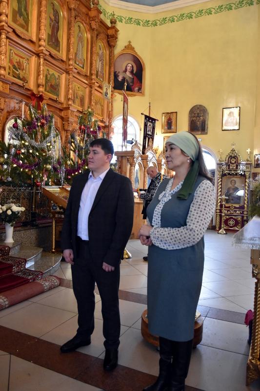 Руководители Религиозных Объединений Северного Казахстана поздравили православных верующих с праздником Рождества Христова