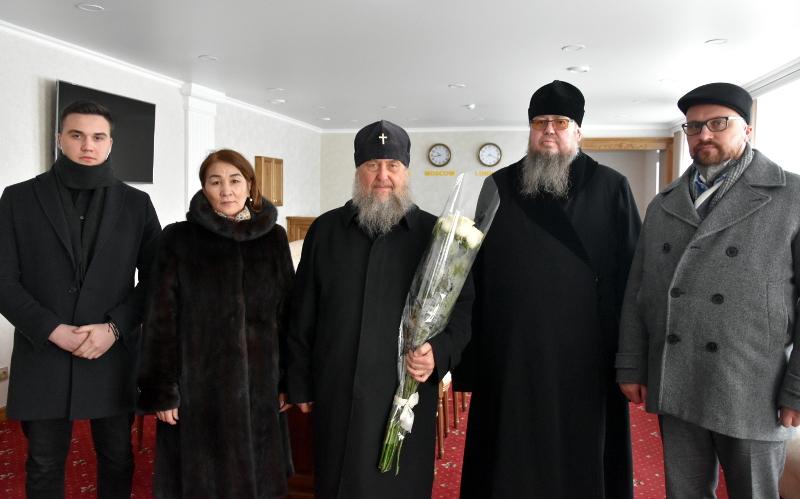 Визит Главы Православной Церкви Казахстана в Петропавловскую епархию