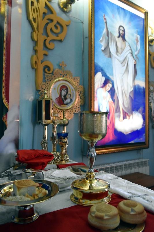Архиерейская Литургия в Неделю перед Богоявлением