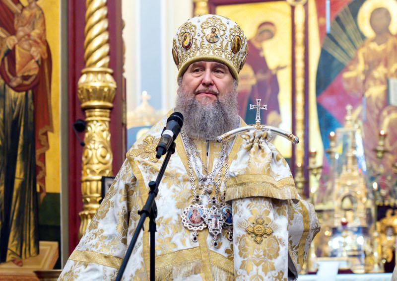 Митрополит Астанайский и Казахстанский Александр поздравил казахстанцев с праздником Богоявления