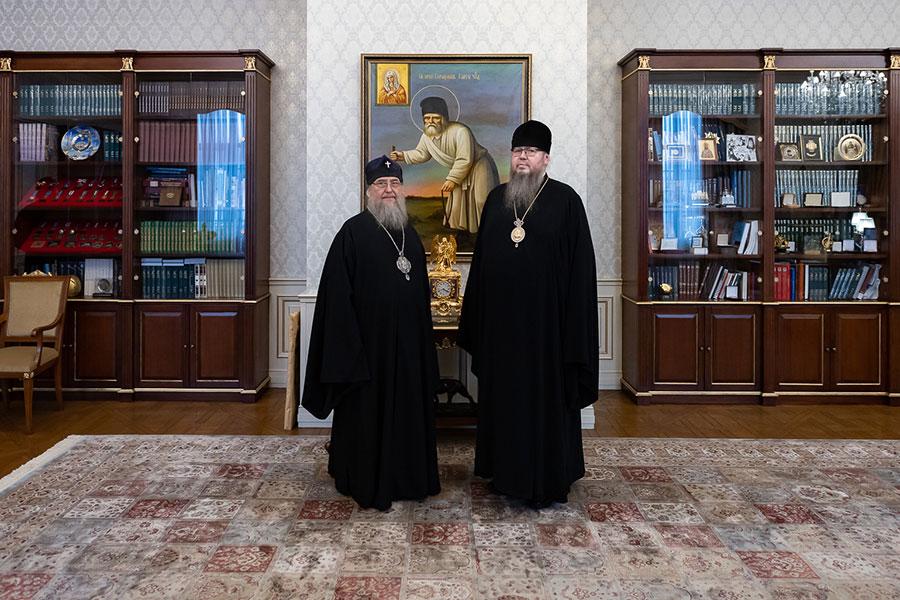 Глава Православной Церкви Казахстана провел совещание с епископом Петропавловским и Булаевским Владимиром