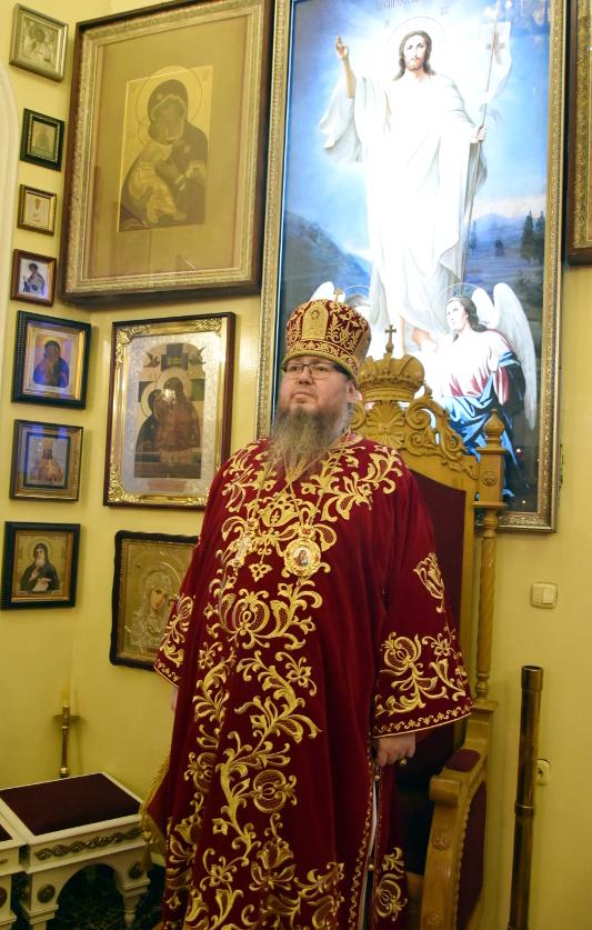 Архиерейская Литургия в праздник Собора Святых Новомучеников и Исповедников Церкви Русской