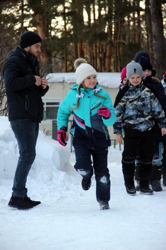«Зимняя сказка» для учащихся школы в честь прп. Сергия Радонежского