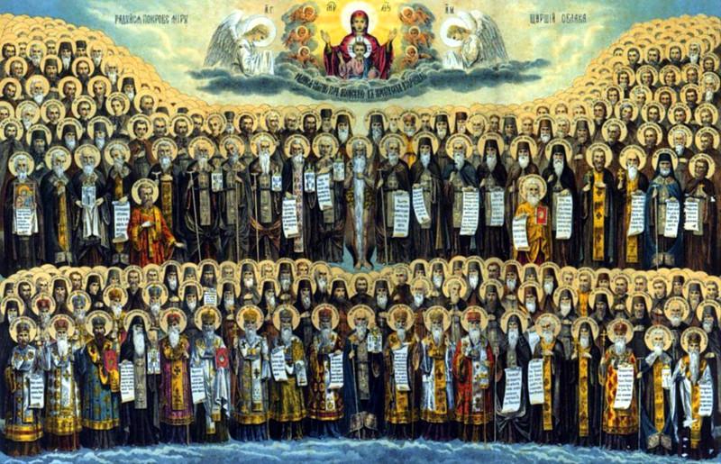 Архиерейская Литургия в день памяти всех преподобных отцов, в подвиге просиявших