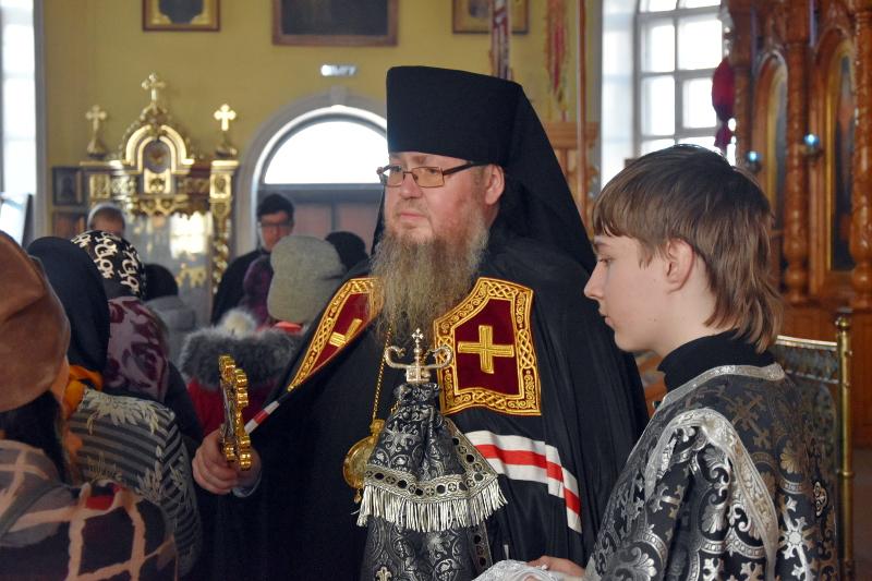 Правящий архиерей возглавил «чин прощения» в главном храме епархии