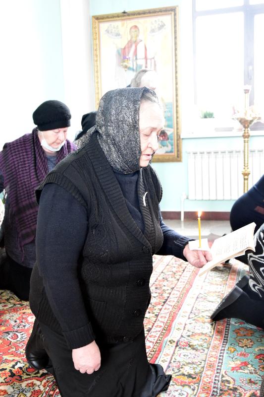 Чтение Великого канона прп. Андрея Критского во вторник первой седмицы Великого поста