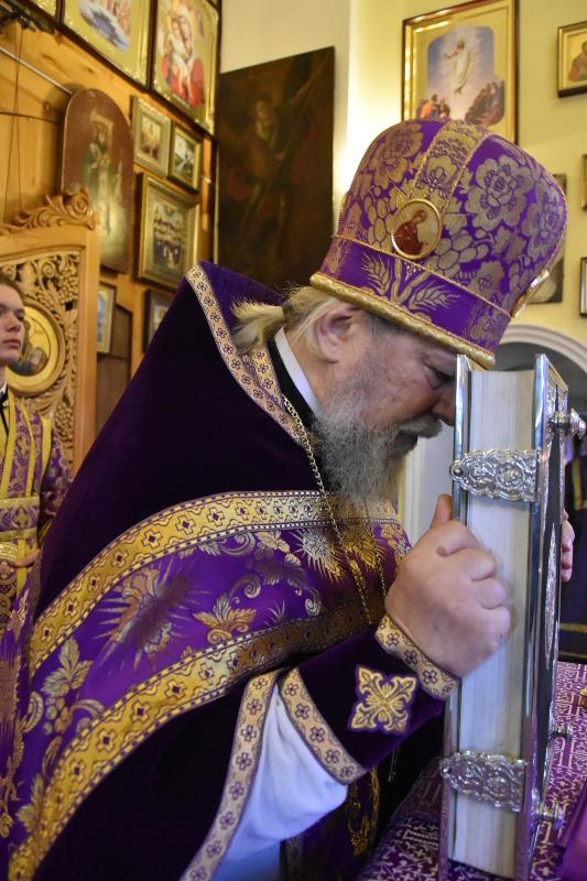 Празднование Сорока мучеников Севастийских в кафедральном соборе