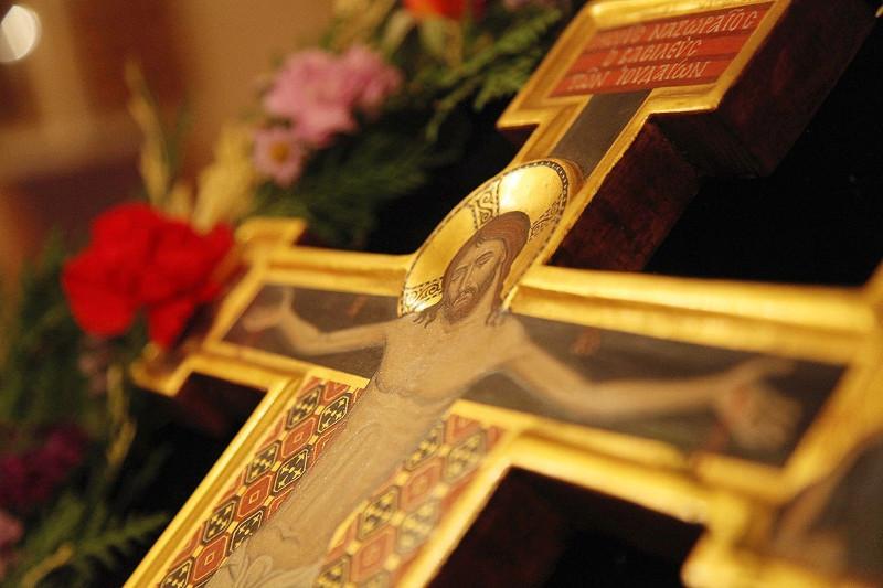 Всенощное Бдение с чином поклонения Кресту Господню