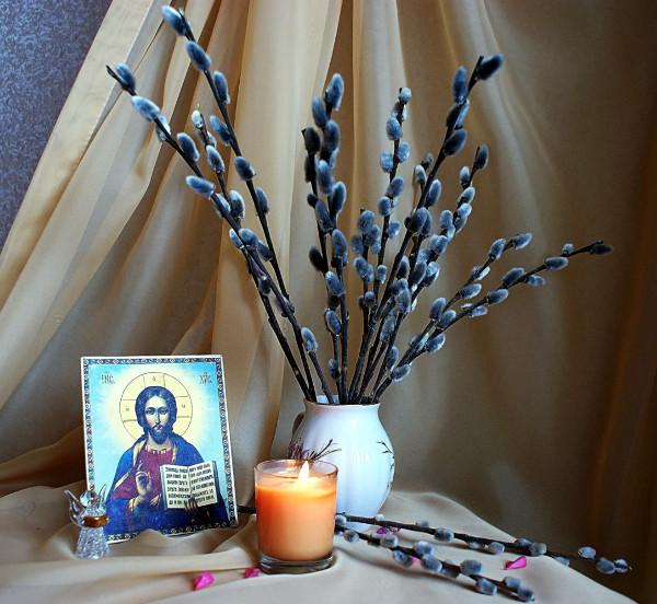 Богослужения праздника Входа Господня во Иерусалим в Кафедральном соборе Петропавловска