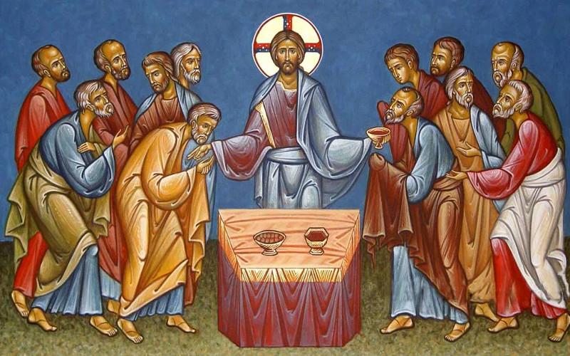 Воспоминание Тайной Вечери в кафедральном соборе