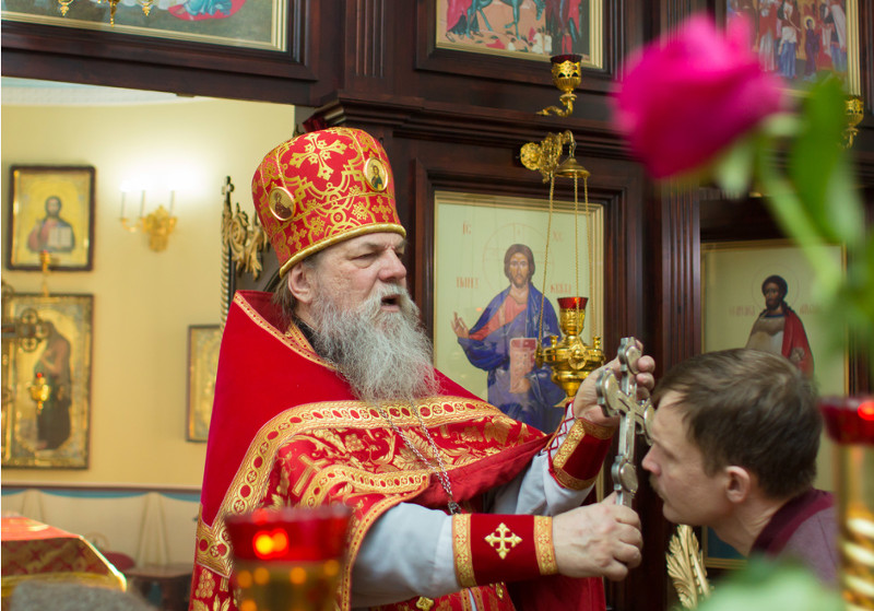 Проповедь в неделю о Фоме настоятеля Петро-Павловского собора протоиерея Сергия Снопкова