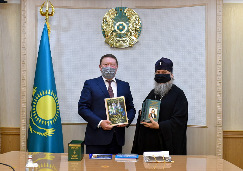 Фотолетопись Петропавловской и Булаевской епархии за первое полугодие 2021 года