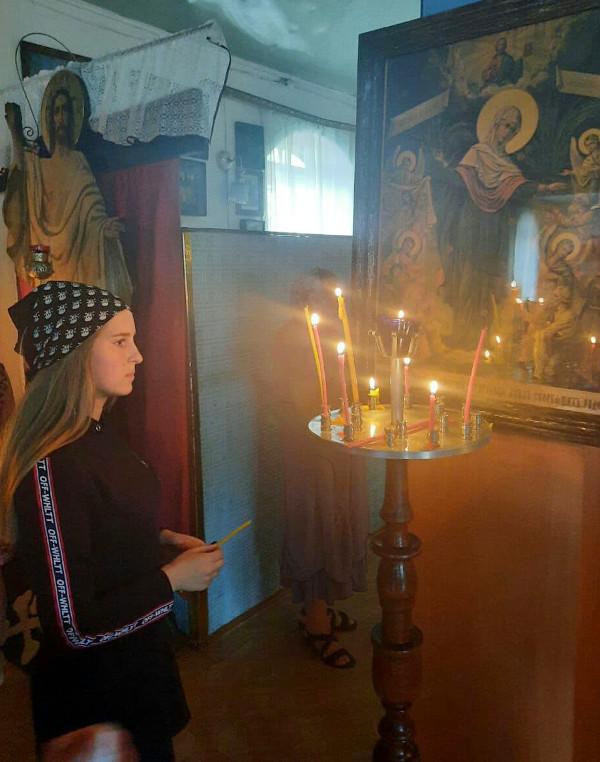 Всенощное Бдение под праздник святителя Николая в Свято-Покровском храме с. Тайынша