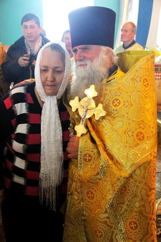 Архиерейская Литургия в день памяти прот. Виталия Дементьева