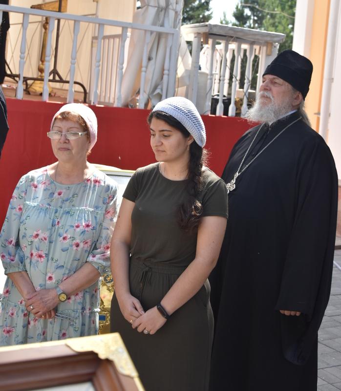 Архиерейская Литургия в Неделю 7-ю по Пасхе