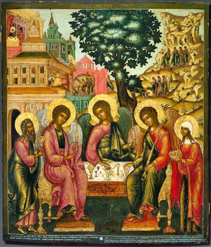 Архиерейское служение в праздник Святой Троицы