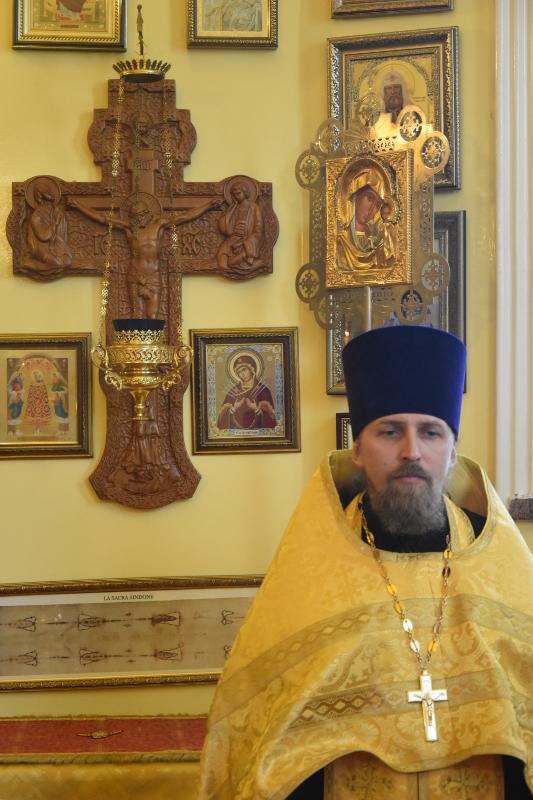 Всенощное бдение в канун праздника небесных покровителей града Петропавловска