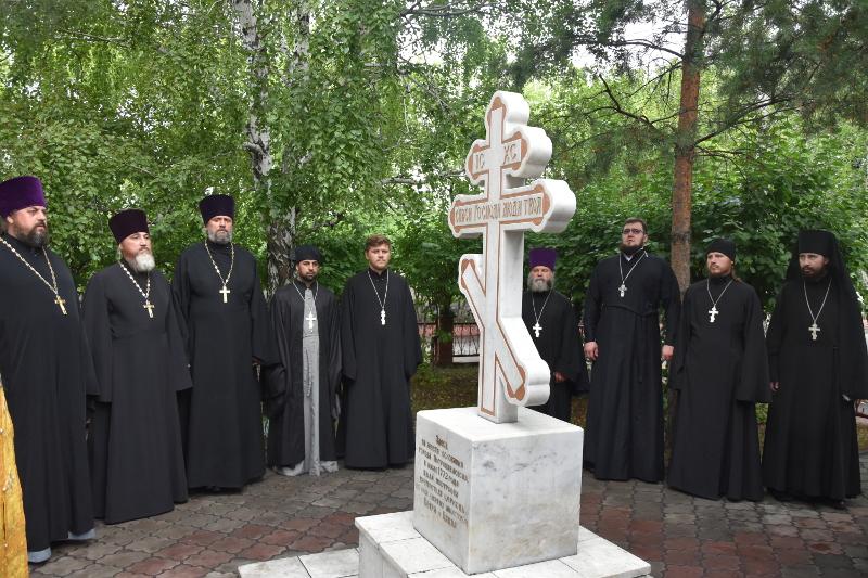 Молитва в память об основателях города и горожанах