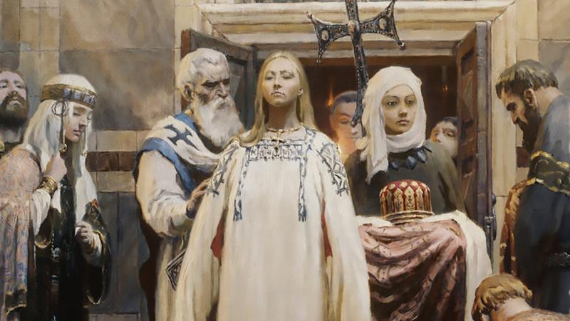 Архиерейская Литургий в храме вмч. Пантелеимона с. Корнеевка