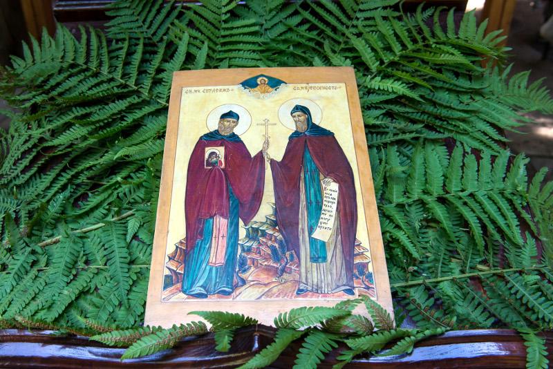 Алматинцы почтили память мучеников Серафима и Феогноста