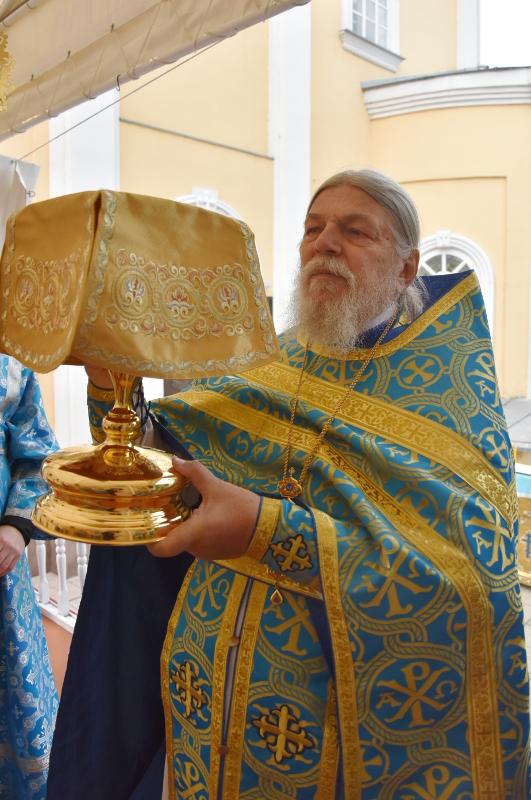 Юбилей старейшего клирика Петропавловской и Булаевской епархии