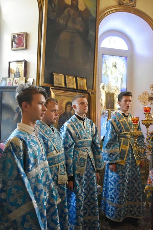 Архиерейская Литургия в Неделю 11-ю по Пятидесятнице