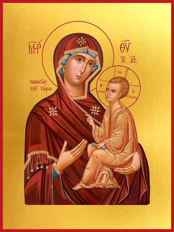 Тихвинская икона Пресвятой Богородицы в Петропавловске
