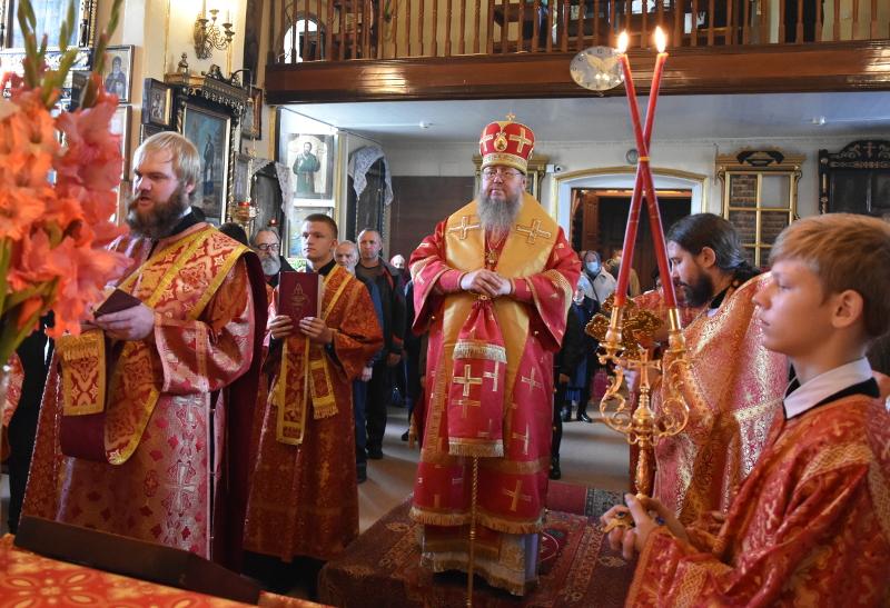 Архиерейская литургия в праздник Усекновения Главы Иоанна Крестителя