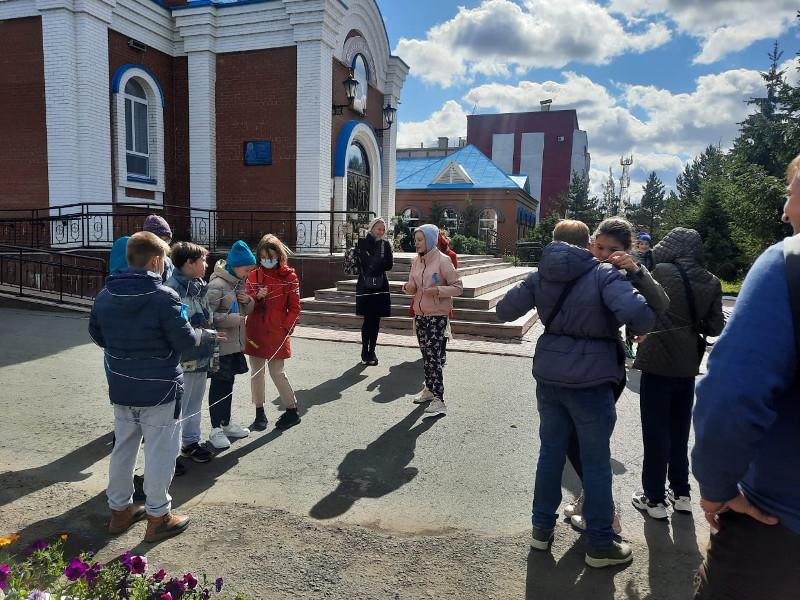 Начало учебного года в воскресной школе Вознесенского кафедрального собора