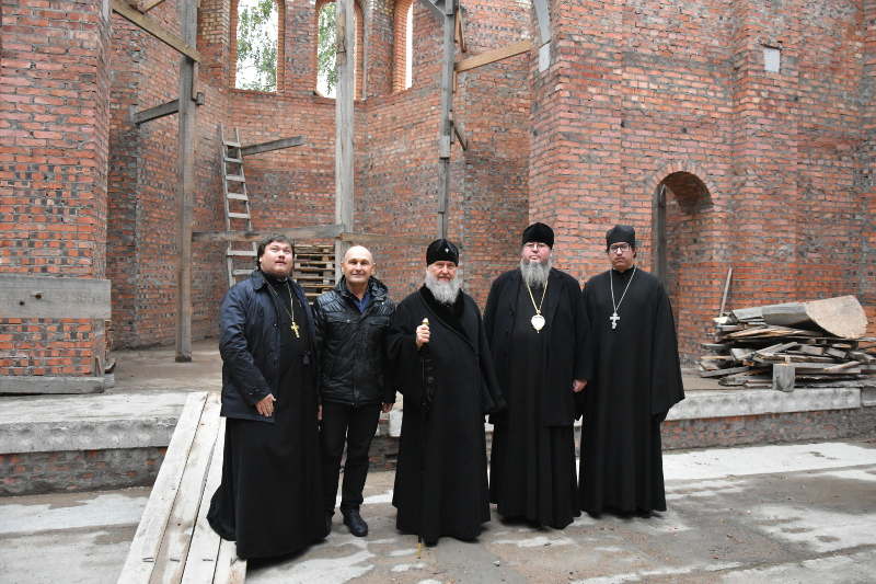 Освящение духовно-культурного центра в честь митрополита Иосифа (Чернова)