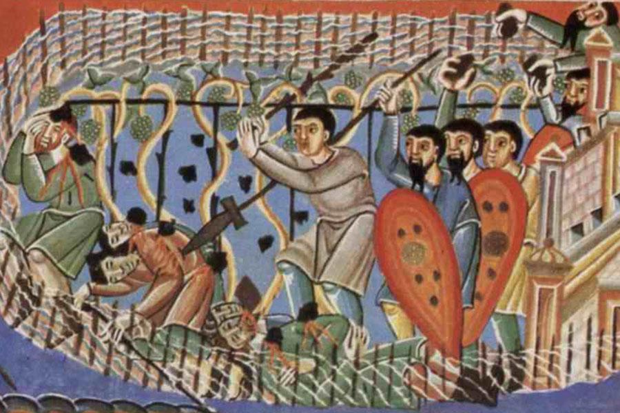 Архиерейская Литургия в Неделю 13-ю по Пятидесятнице, в день памяти Собора Святых Новомучеников и Исповедников Церкви Казахстанской