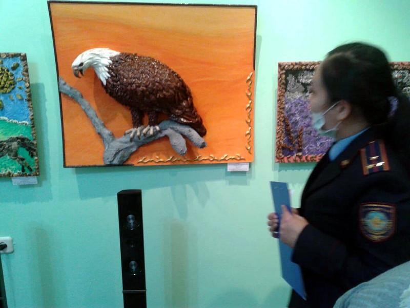 Выставка изделий, выполненных руками заключенных «Үмiт-2021» в юбилейный год Независимости Республики Казахстан