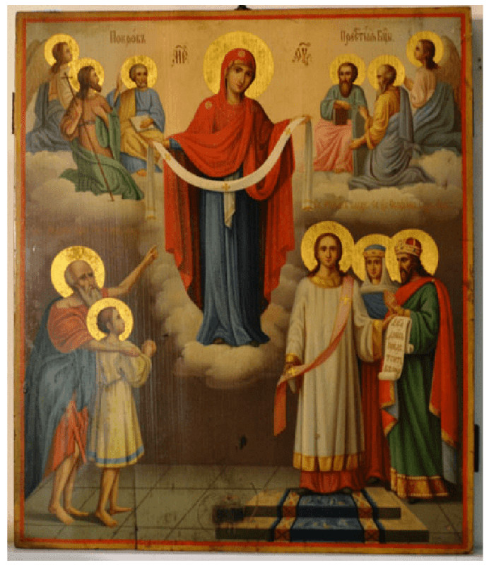 В праздник Покрова Пресвятой Богородицы Преосвященный епископ Владимир совершил Литургию в храме Всех Святых Петропавловска
