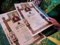 В день Святой Троицы Предстоятель Русской Церкви совершил Литургию в Троице-Сергиевой лавре и возглавил хиротонию архимандрита Владимира (Михейкина) во епископа Петропавловского и Булаевского